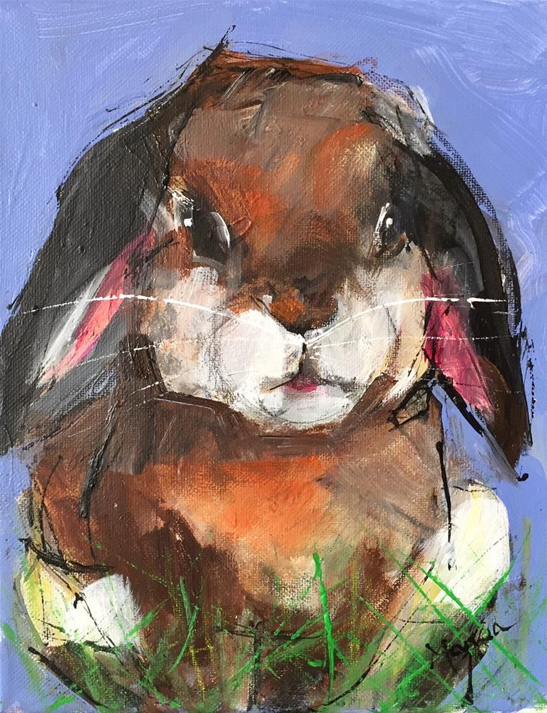 """Henry"" original fine art by Marcia Hodges"