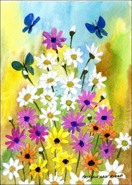 """Another Amazing Spring"" original fine art by Patricia Ann Rizzo"