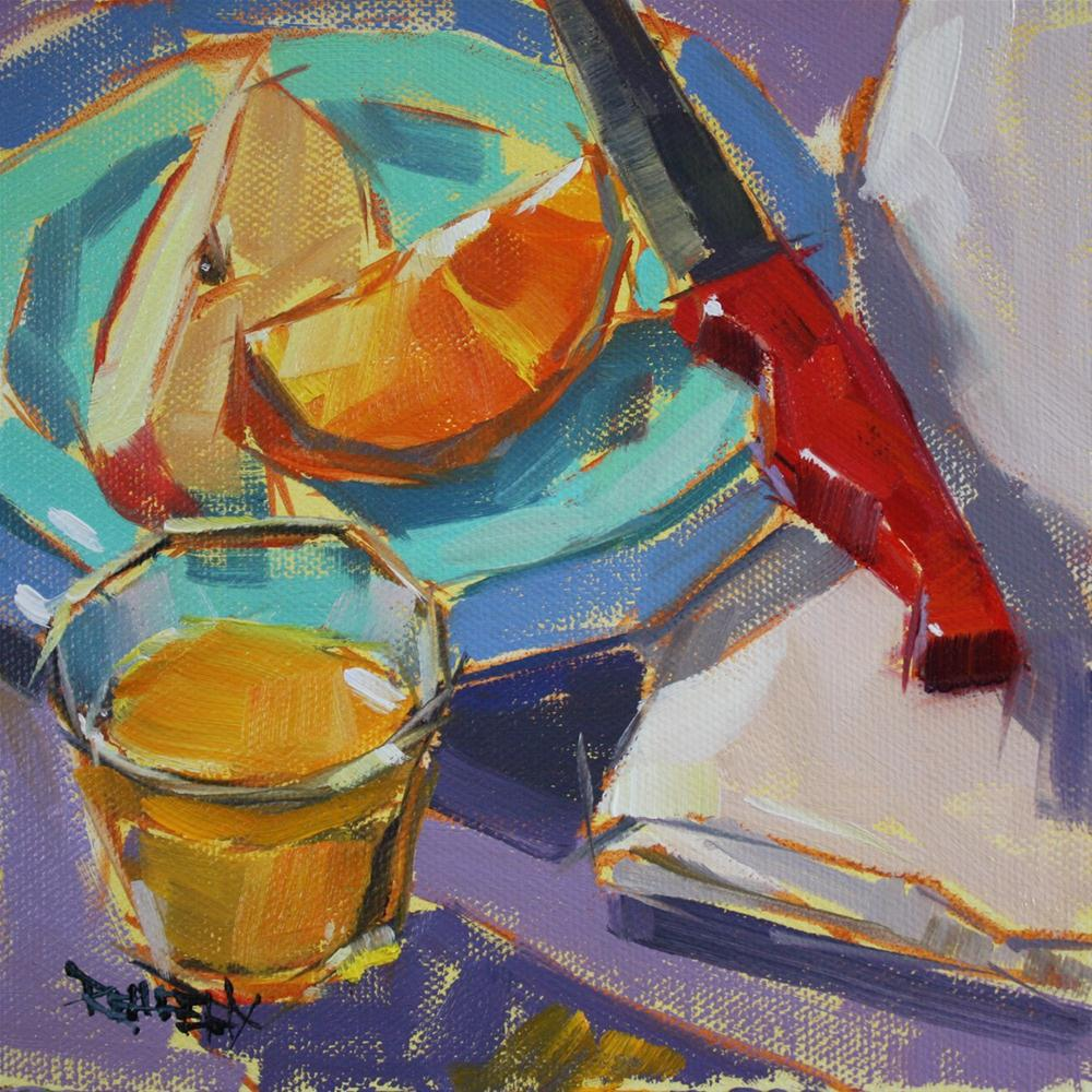 """Dream Breakfast"" original fine art by Cathleen Rehfeld"