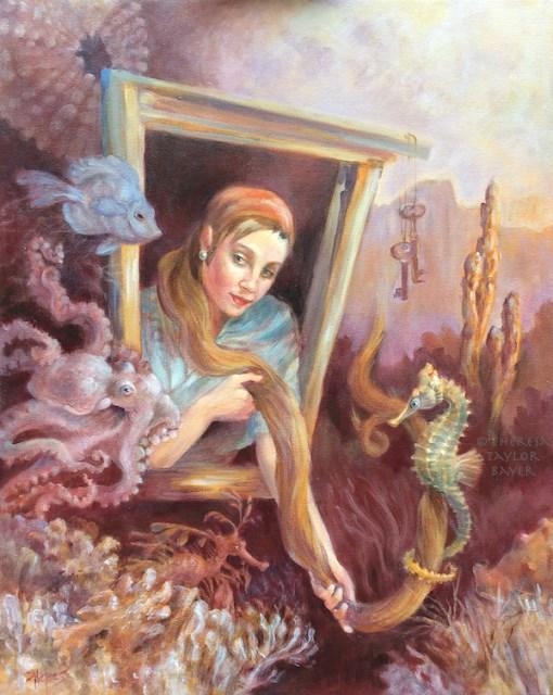 """Sea Shanty"" original fine art by Theresa Taylor Bayer"