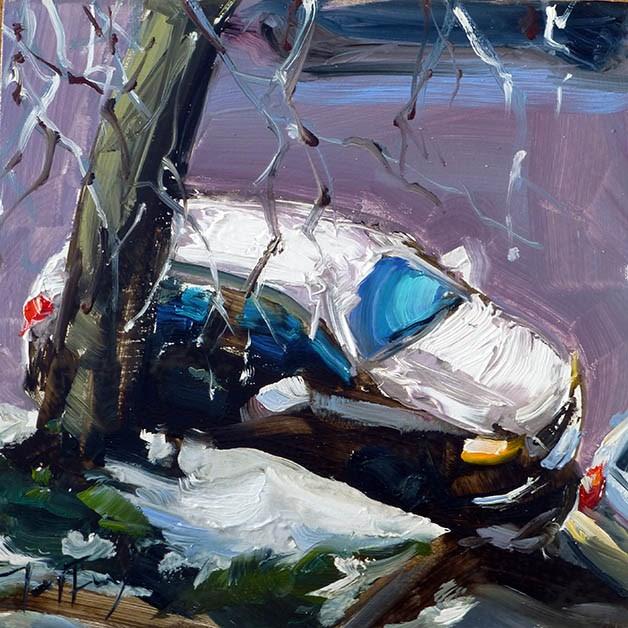 """""""Der Blick aus dem Fenster"""" original fine art by Jurij Frey"""