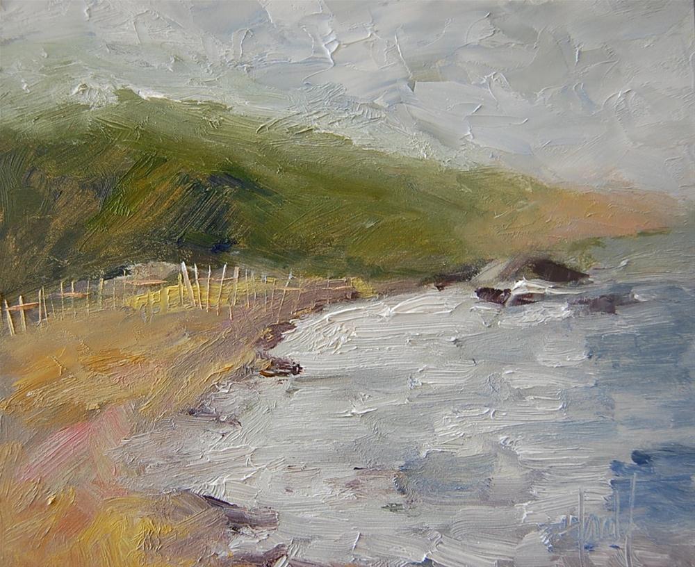 """""""Morning Fog"""" original fine art by Deborah Harold"""