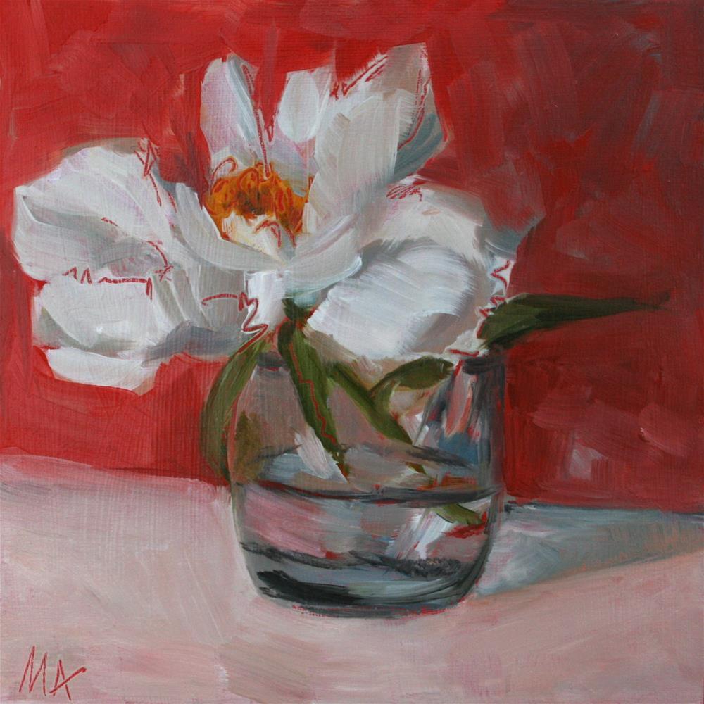 """Save a Flower"" original fine art by Aniko Makay"