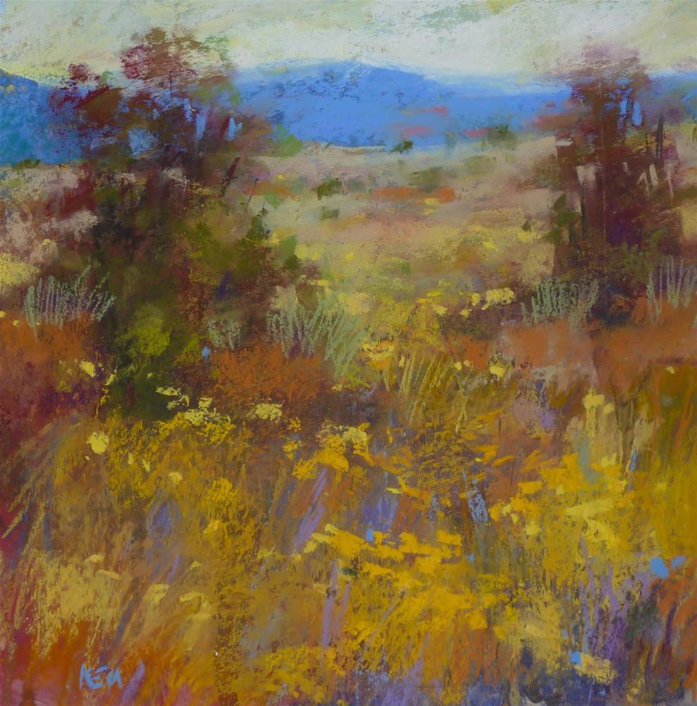 """Place Names in Landscape Paintings...Yes or No?"" original fine art by Karen Margulis"