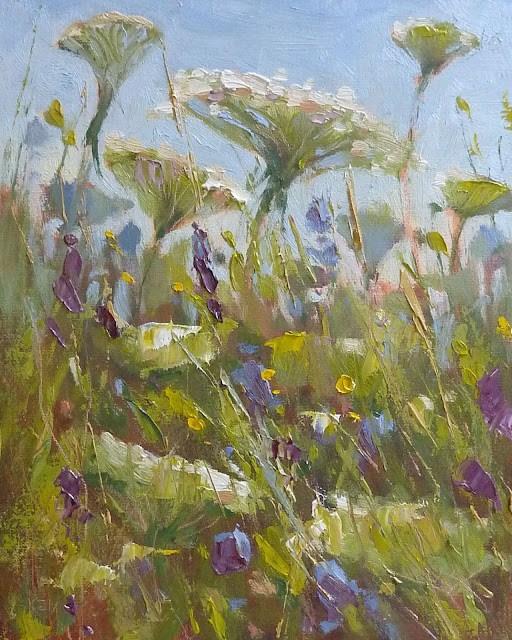 """A Midwest Bouquet"" original fine art by Karen Margulis"