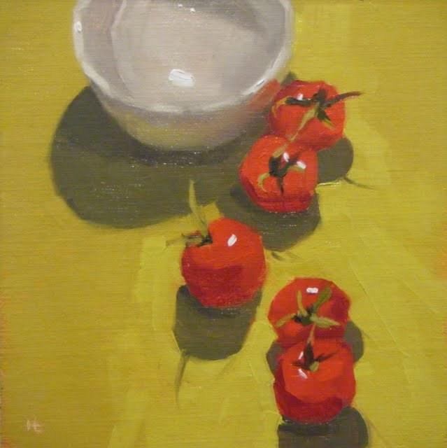 """HEADING SOUTH"" original fine art by Helen Cooper"