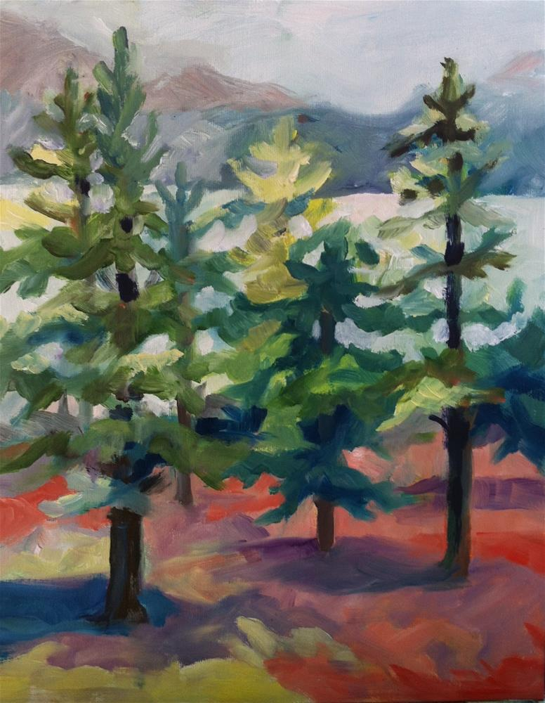 """Summer"" original fine art by Sally Posner"
