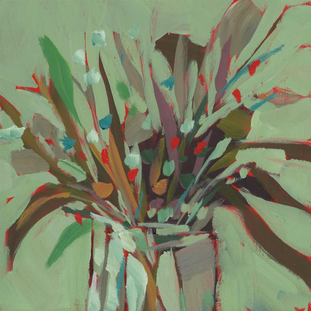 """0988: It's Evergreen"" original fine art by Brian Miller"