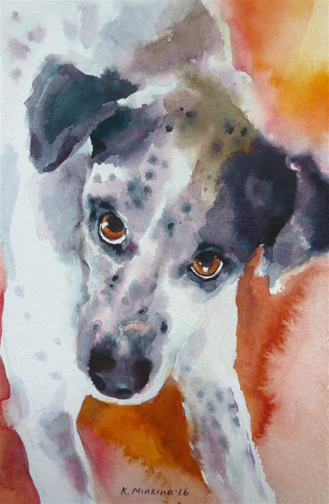 """adopt176"" original fine art by Katya Minkina"