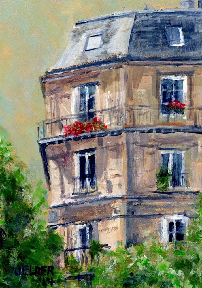 """Paris No. 28"" original fine art by Judith Elder"