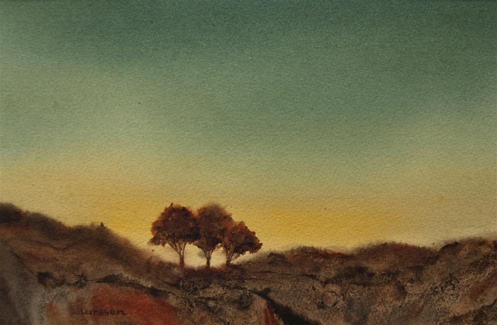 """""""Morning Glow"""" original fine art by Jean Lurssen"""