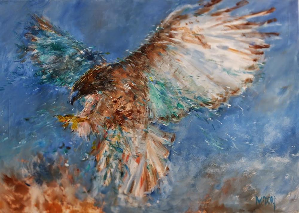 """Glass wings"" original fine art by Midori Yoshino"