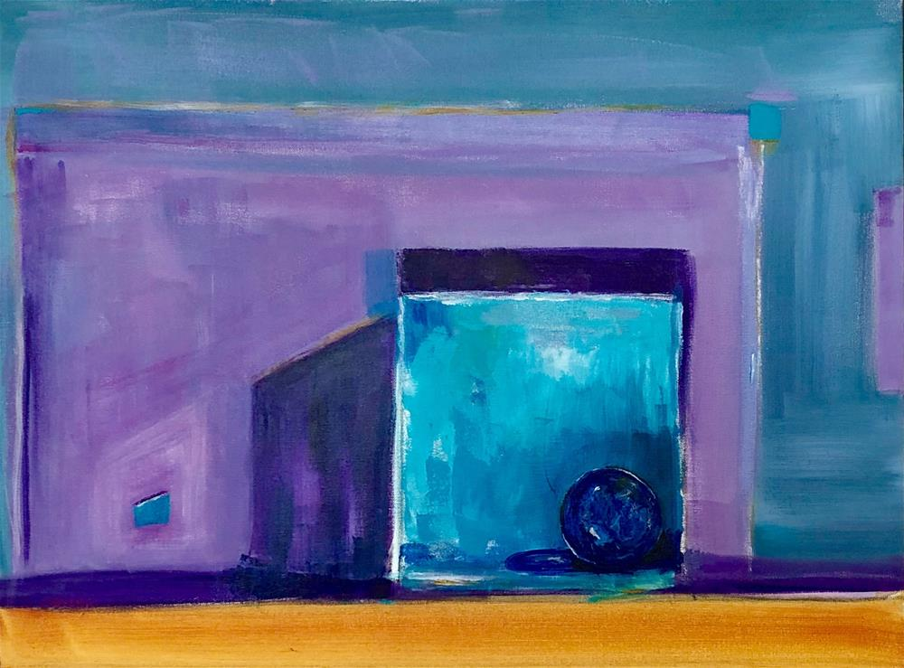"""Boxed In"" original fine art by Carol Wiley"