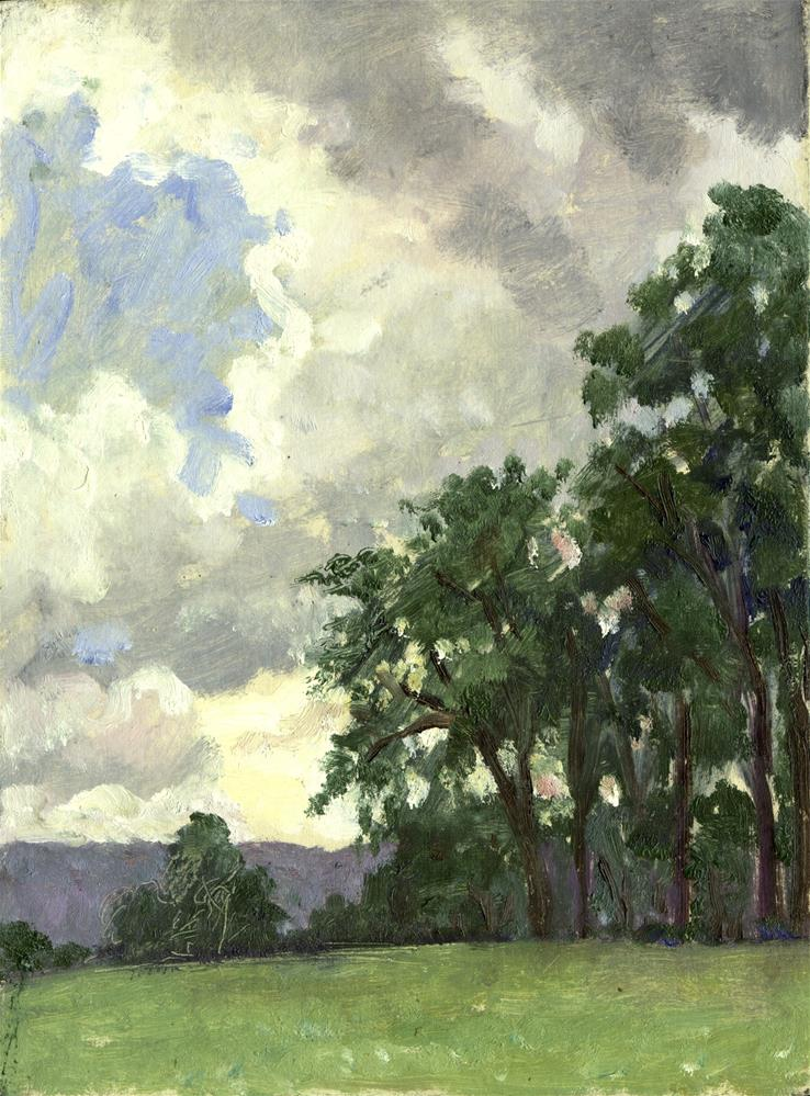 """""""From Tanglewood"""" original fine art by Thor Wickstrom"""