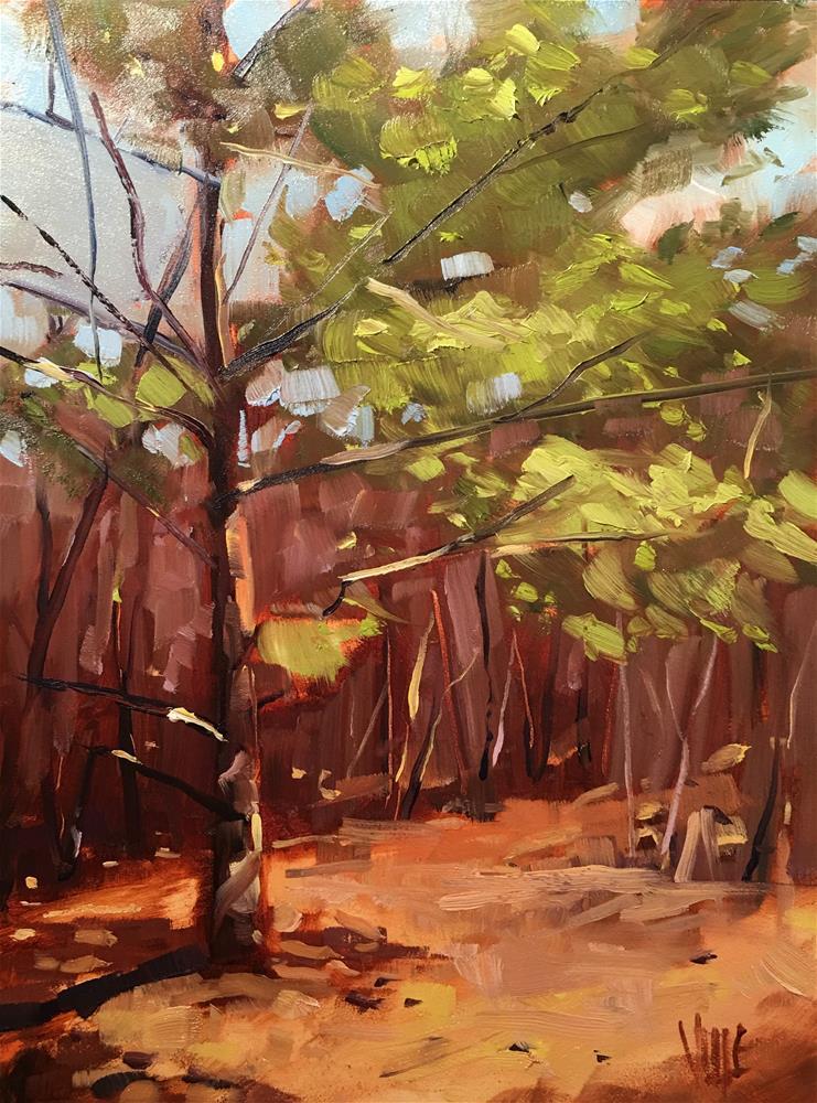 """""""#320 Early Spring"""" original fine art by Patty Voje"""