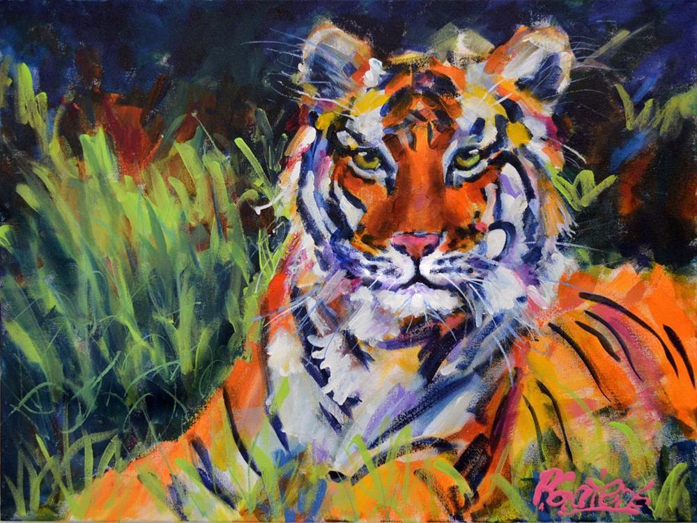 """Crown Jewel of India"" original fine art by Pamela Gatens"
