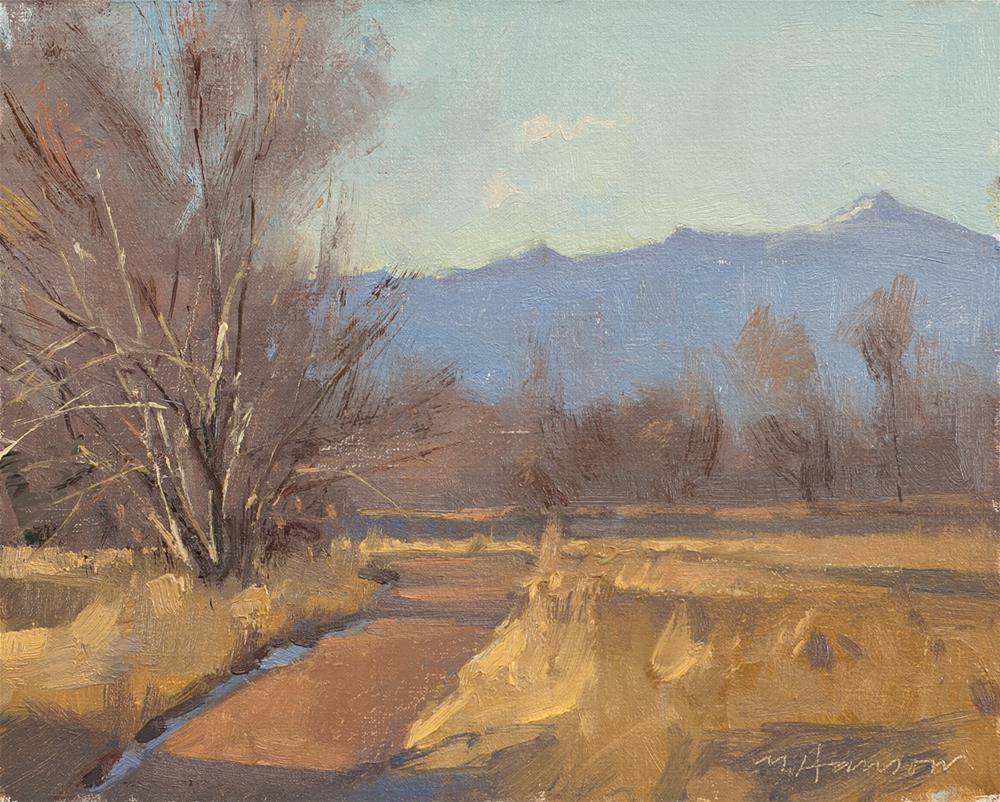 """2-26-4 Terra Rosa Path"" original fine art by Marc Hanson"