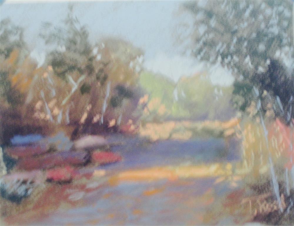 """November Walk"" original fine art by Toby Reid"
