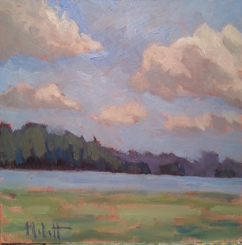 """Daydreams Landscape Impressions Daily Oil Painting"" original fine art by Heidi Malott"