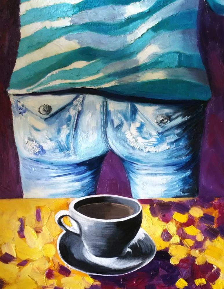 """""""But is it Black"""" original fine art by Dana C"""