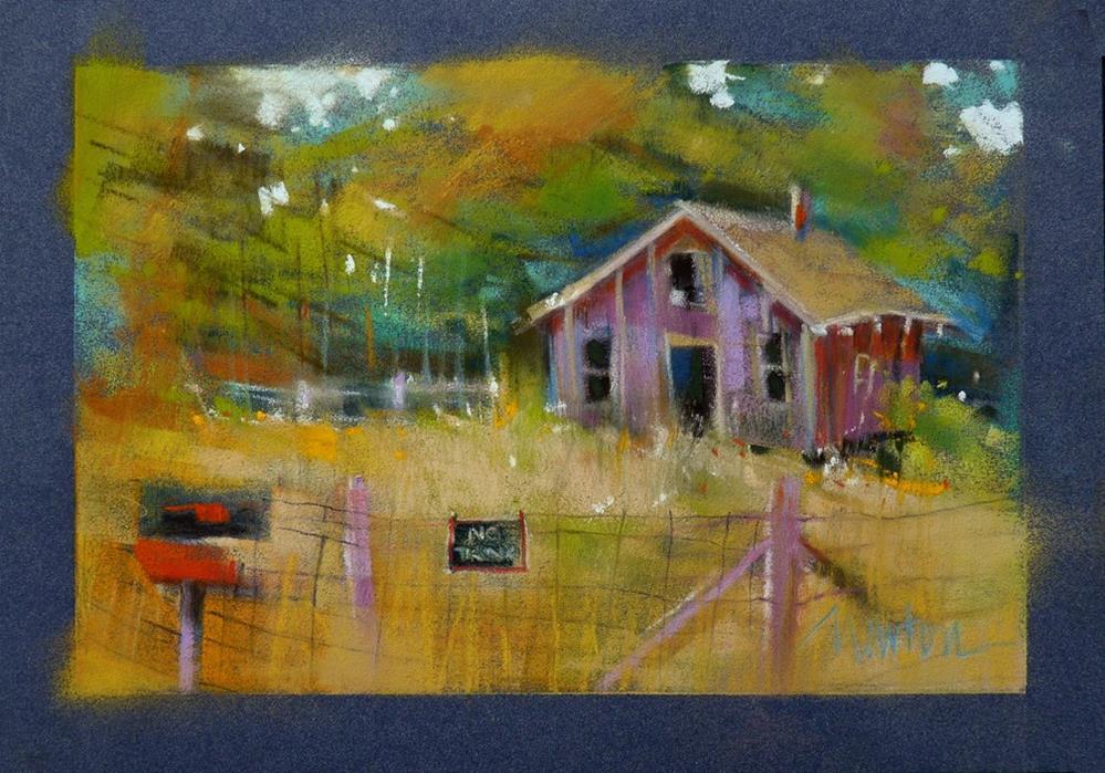 """""""Homestead"""" original fine art by Barbara Benedetti Newton"""
