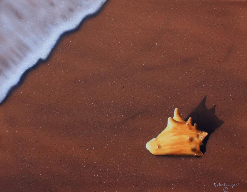 """Ebb Tide # 6"" original fine art by Fred Schollmeyer"