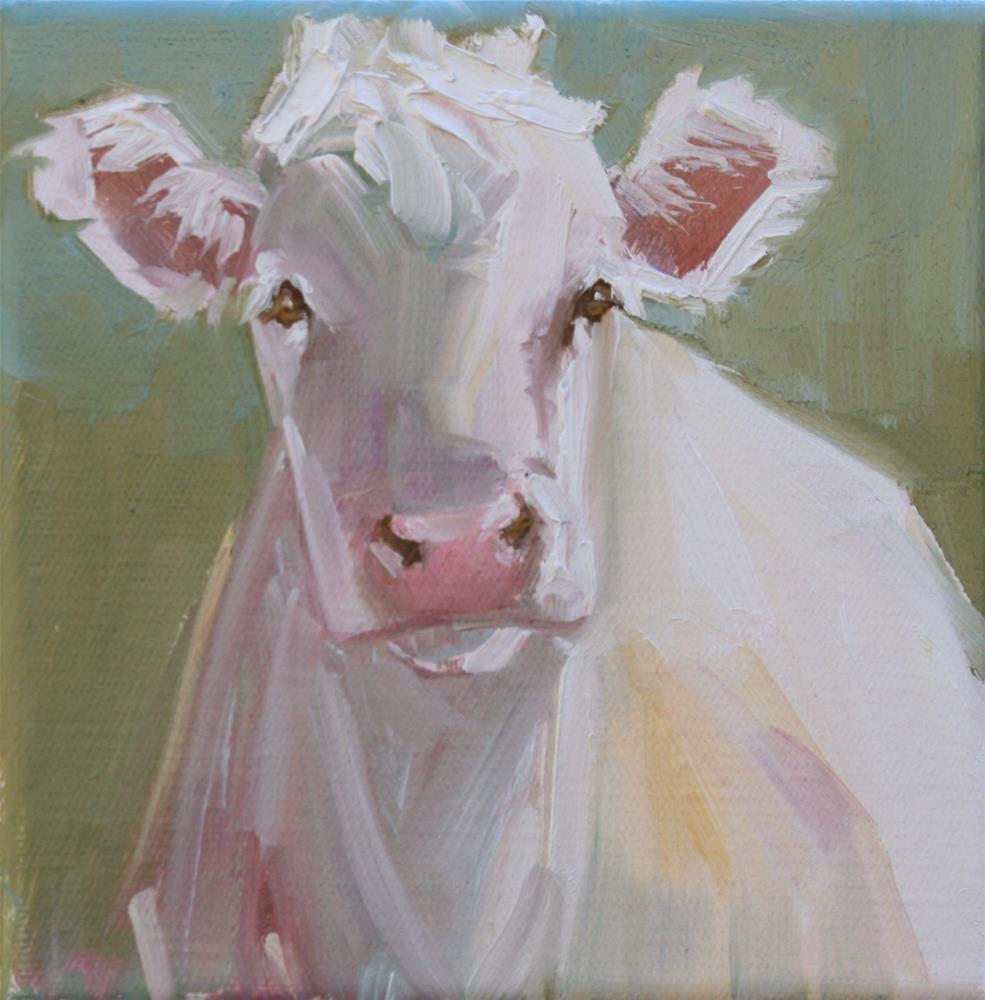 """you don't say?"" original fine art by Carol Carmichael"