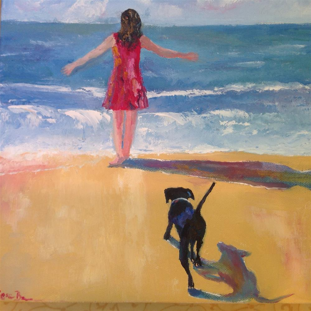 """""""What a Beautiful Day!"""" original fine art by Rose Brenner"""