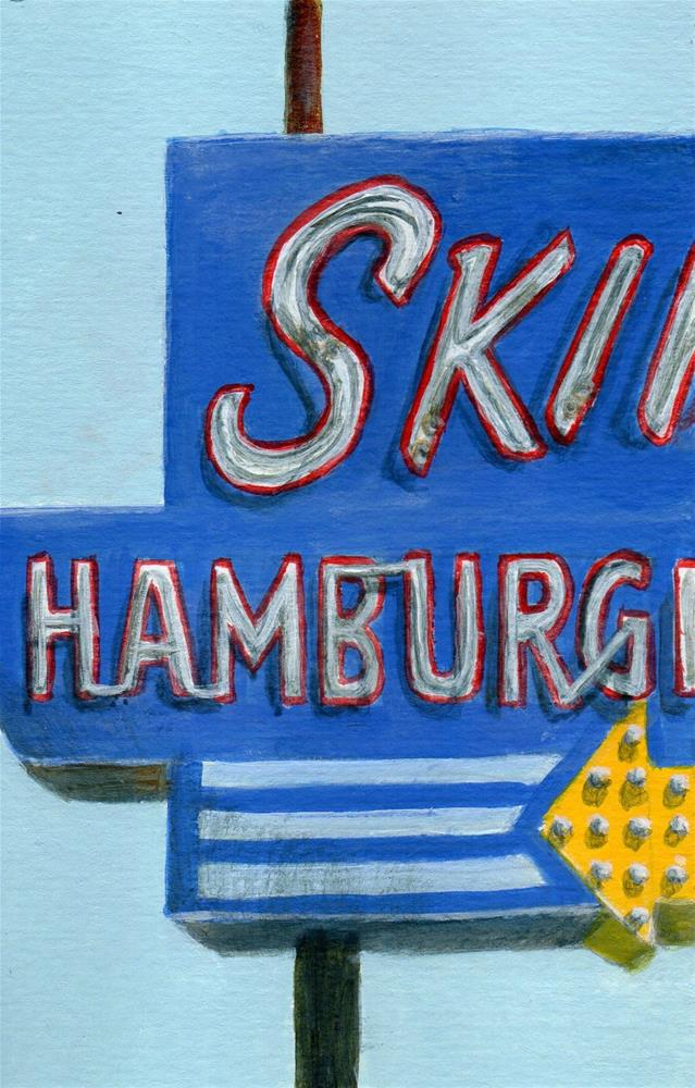 """Skips"" original fine art by Debbie Shirley"