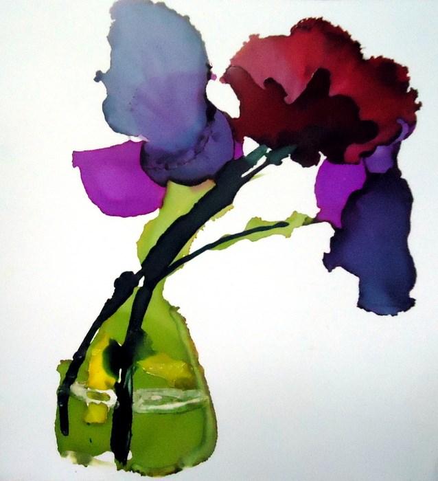 """""""Colors"""" original fine art by Laurie Mueller"""
