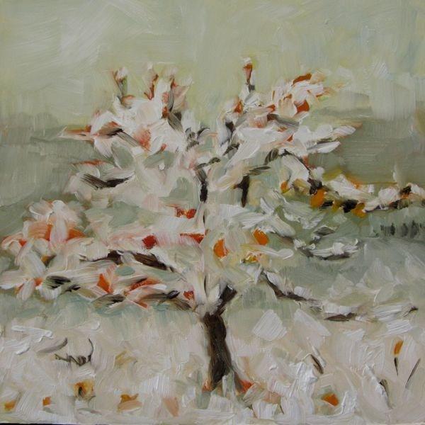 """First Snow"" original fine art by Mb Warner"