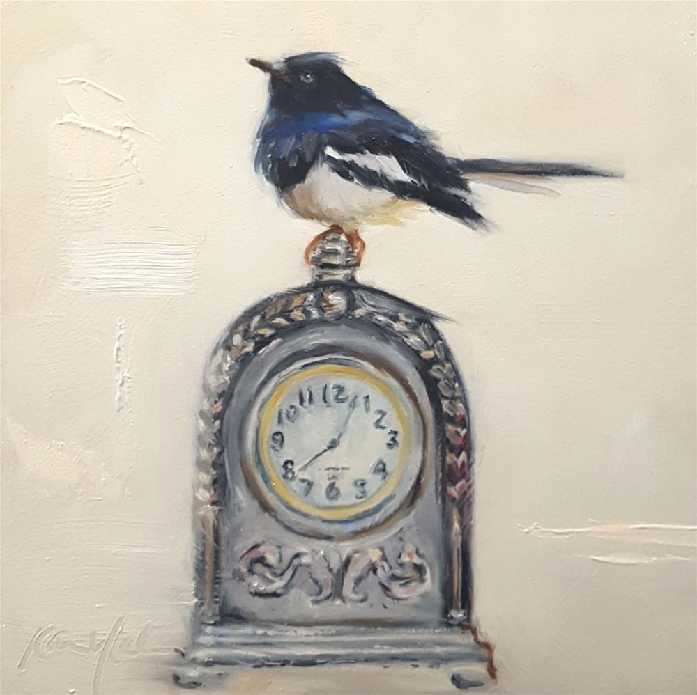 """""""Twelve Thirty Seven"""" original fine art by Karen Weber"""