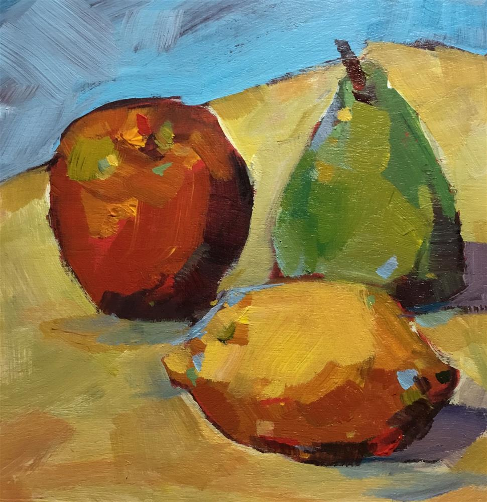 """0809: Too Much Fruit"" original fine art by Brian Miller"