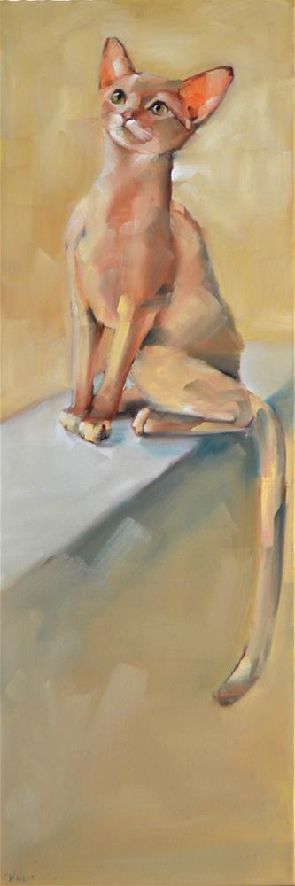 """Abby Extreme"" original fine art by Cheryl Wilson"