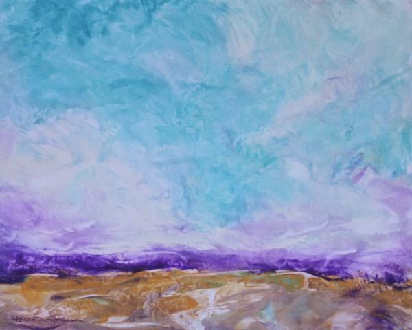 """Turbulent Terrain"" original fine art by Jana Johnson"