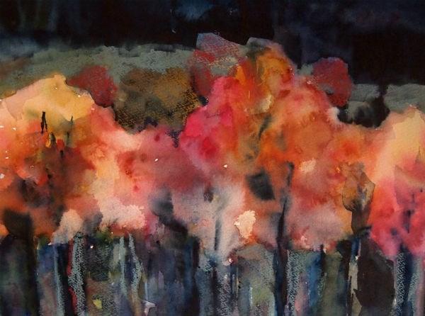 """September"" original fine art by Amy Bryce"