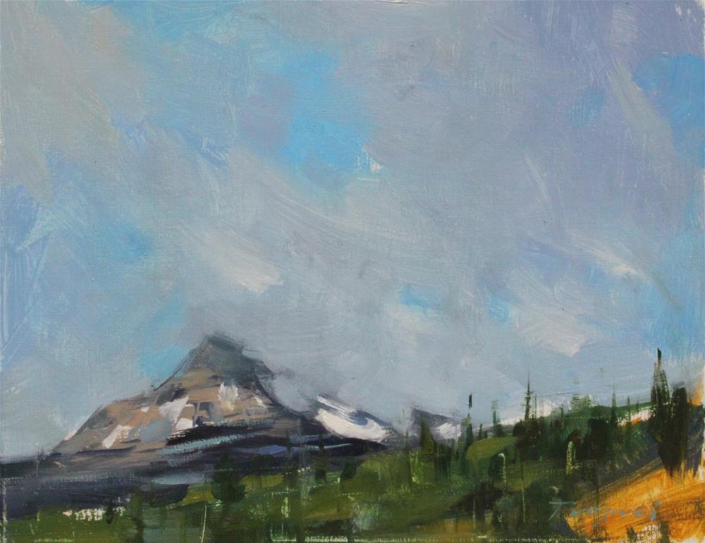 """Alaska"" original fine art by Fongwei Liu"