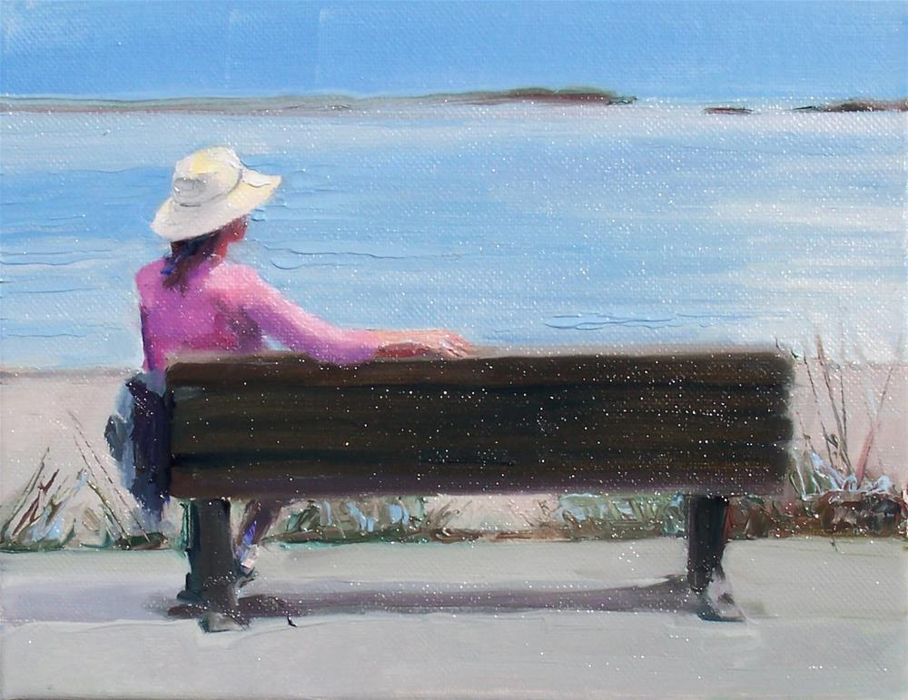 """Pure Joy,figure,oil on canvas,8x10,priceNFS"" original fine art by Joy Olney"