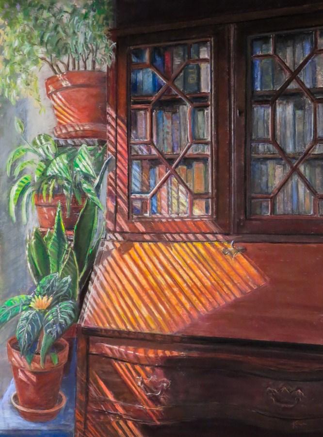 """Apartment Life"" original fine art by karen israel"