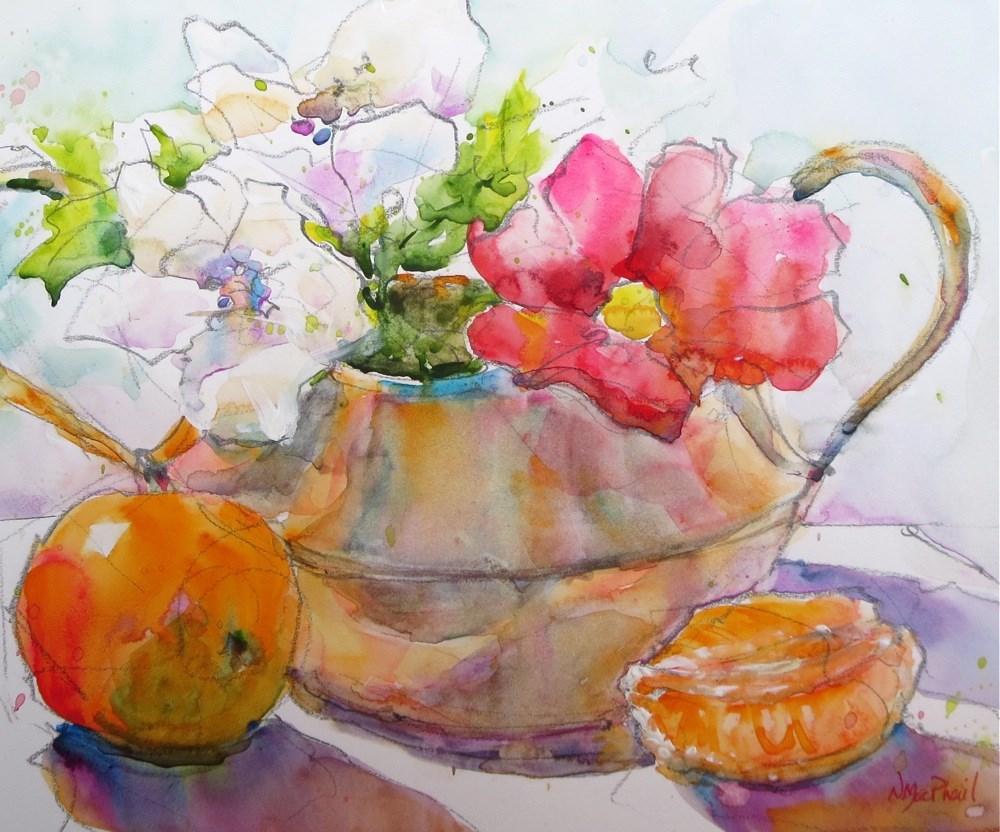 """""""gather around"""" original fine art by Nora MacPhail"""