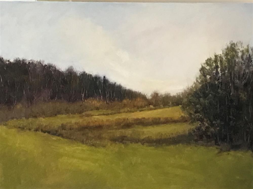 """""""pasture"""" original fine art by Betty Argiros"""