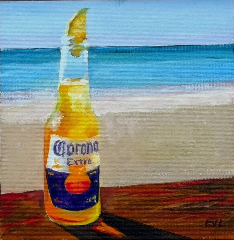 """""""Want a Lime with That?"""" original fine art by Eric Larson"""