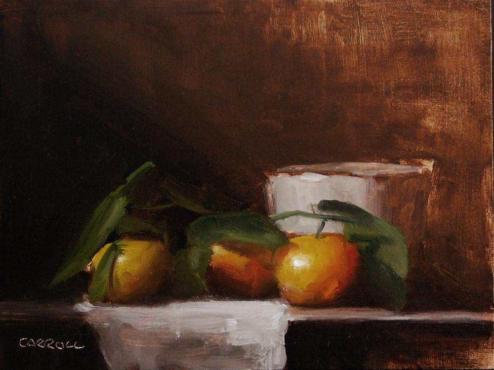 """Clementine with Small Pot"" original fine art by Neil Carroll"