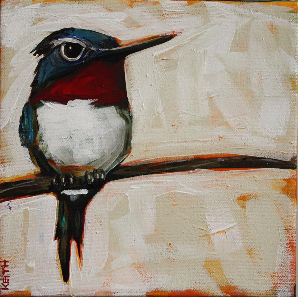 """Zippy"" original fine art by Kandice Keith"