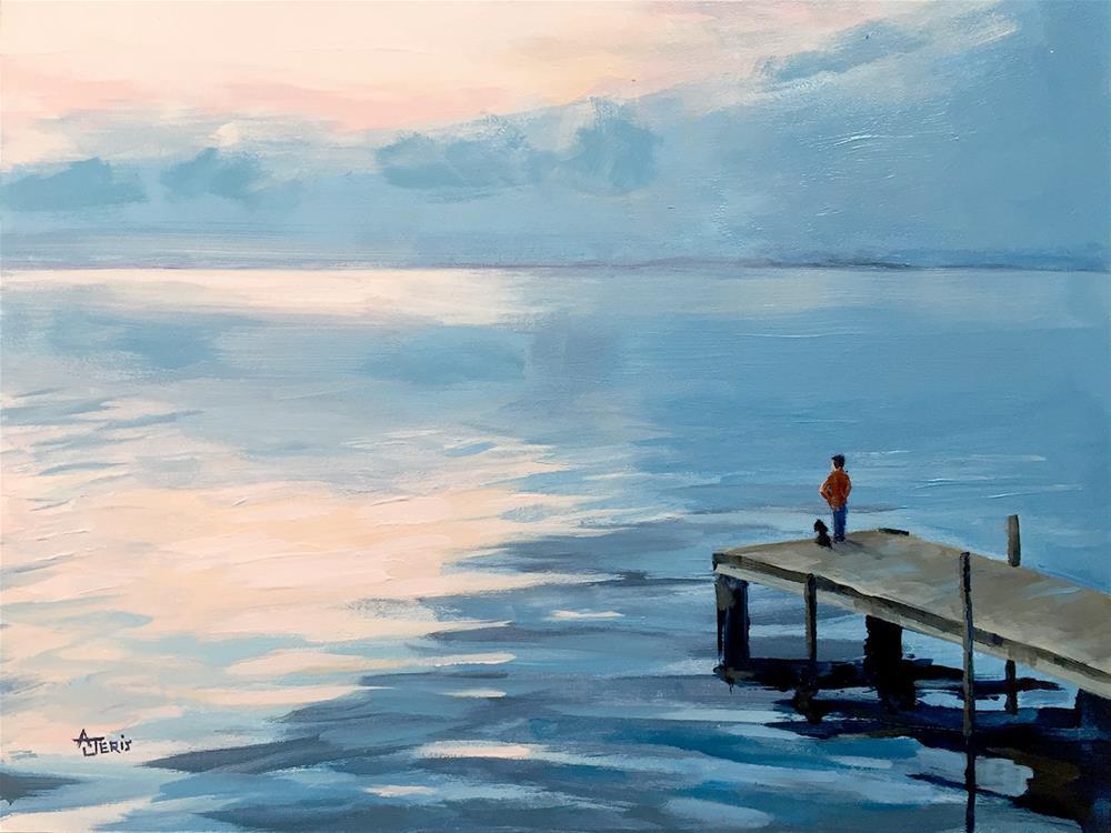 """Gazing"" original fine art by Andrea Jeris"