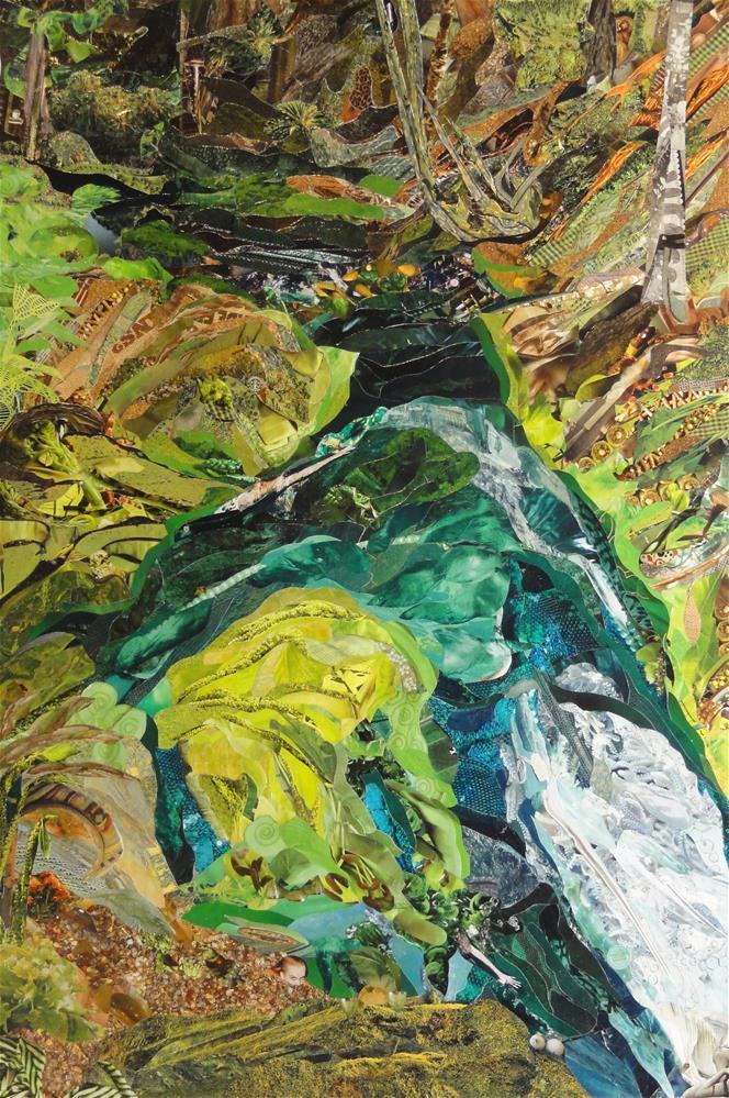 """""""La Source"""" original fine art by Cynthia Frigon"""