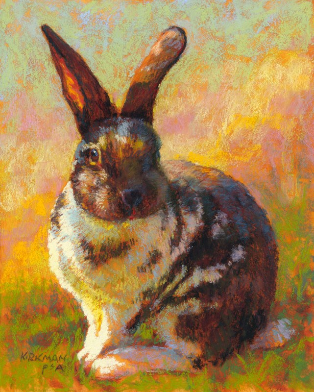 """Hops - day 6"" original fine art by Rita Kirkman"