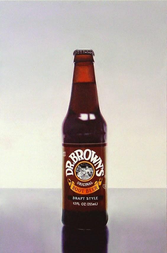 """Dr. Brown's Root Beer"" original fine art by Gerard Boersma"
