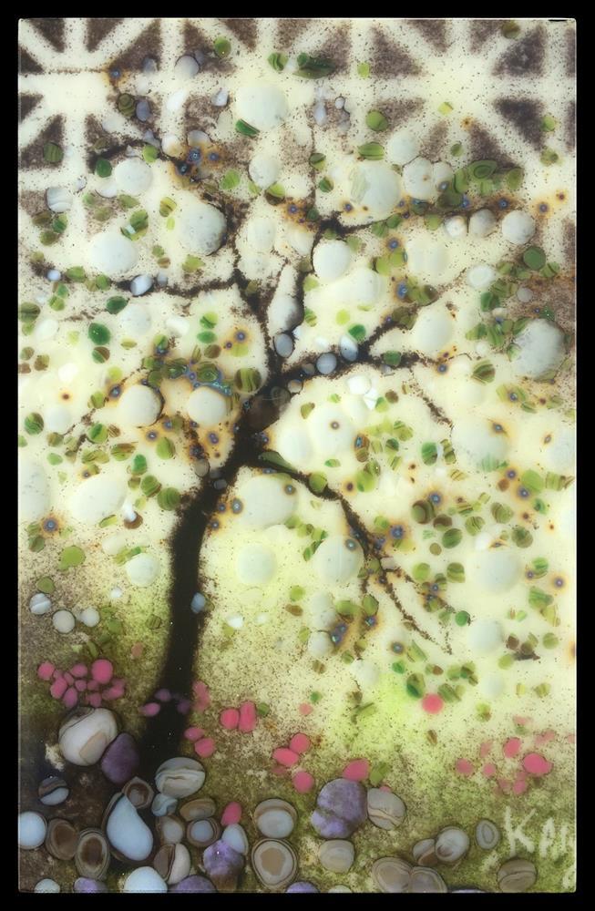 """Weeping Tree"" original fine art by Kelly Alge"