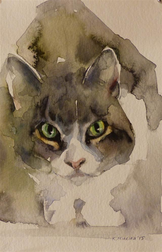 """adopt75"" original fine art by Katya Minkina"